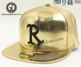 Kühle glänzende goldene Hysteresen-Schutzkappe der Qualitäts-2017 mit Gold der Stickerei-3D