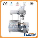 Crema de emulsionante máquina mezcladora de vacío con homogeneizador mezclador