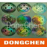 Sticker van het Etiket van de Veiligheid van de druk de Holografische Nietige
