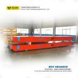 50 la tonne Usine chimique chariot de transfert motorisé avec plaque en acier