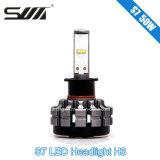 Nuovo indicatore luminoso dell'automobile del faro H3 LED dell'automobile di disegno S7