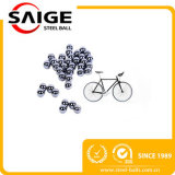 Precio bajo 5.556m m bola de acero de carbón de la bicicleta de 1/4 pulgada