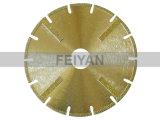 Protección de la hoja Electroplated segmentada para mármol