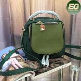 Sacs d'épaule de modèle de Couleur-Collsion de sac à main de mode de sac à dos de cuir véritable pour Madame Emg4956