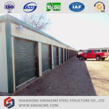Châssis en acier préfabriqués Sinoacme mini entrepôt hangar de stockage