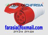 Economische Industriële Schakelaar met 4p 6h IP67 16A Cee/IEC PP/PA