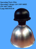 Lumière élevée 16inch/19inch/22inch de compartiment de lampe haloïde en métal