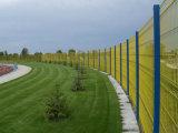 O PVC pintou 3 painéis de aço soldados D da cerca com preço de fábrica