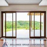 Alta qualità Windows di vetratura doppia e portello scorrevole automatico dei portelli