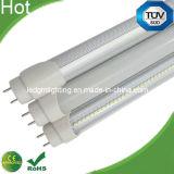 Ce RoHS AC85-265V mencionado de la UL de la alta calidad 2017; las luces de 100-277VAC 18W T8 el 1.2m LED substituyen luces del tubo fluorescente 3 años de garantía