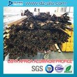 Perfil de alumínio de alumínio para a porta sul do indicador do mercado da África do norte