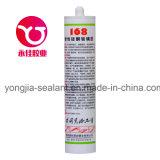 Puate d'étanchéité chimique adhésive en verre acétique de silicones de matériau de construction (HX-168)