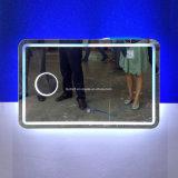 Specchio illuminato accessorio della stanza da bagno della mobilia dell'acciaio inossidabile di Nulti-Scopo (L6015)