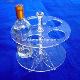 Bandeja de serviço do vaso de acrílico branco para o vinho Exibir Btr-D2159