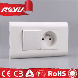 220V Modulares Modulares Universal Wall Light Switches