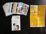 Подгонянные карточные игры семьи/рекламировать играя карточки для промотирования