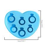 Bague en diamant forme moule à cake en silicone/silicone moule/glace au chocolat moule silicone
