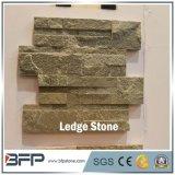 Горячая плитка 2017 каменной стены уступчика шифера формы сбывания z в поверхности разделения