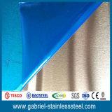 отделка листа нержавеющей стали металла 420 0.5mm почистила щеткой