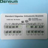 Parentesi graffe Bondable ortodontiche di standard di buona qualità di Denrum Edgewise