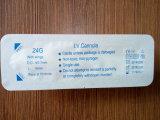 Intravenöser Katheter des medizinischen sterilen Wegwerfcannula-IV mit Flügel 24G
