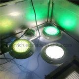 lâmpada subaquática montada superfície da associação do diodo emissor de luz do aço 54W inoxidável