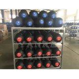 Esfera de medicina de borracha macia patenteada projetada nova de Crossfit do equipamento da aptidão da ginástica