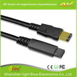 кабель шины сверхбыстрой передачи данных 6FT 6p/9p IEEE 1394 черный