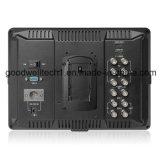 Panneau IPS 10,1 pouces de moniteur vidéo pour diffusion professionnelle