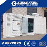 tipo generador diesel 1MW del pabellón del envase 1250kVA de Cummins