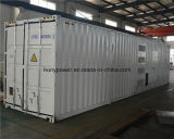 40hc Containerized Cummins 침묵하는 디젤 엔진 발전기 1MW