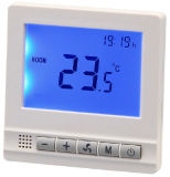Настенный монтаж электрического обогревателя на основной плате вентилятор на потолке термостат на дом (HTW-31-F17)