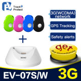 GPS que segue o dispositivo para o trabalho de campo com mini feito sob medida do perseguidor do GPS para crianças/pessoas adultas