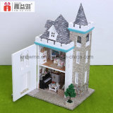 Guangzhou 3D Puzzle Dollhouse DIY brinquedos de madeira