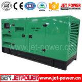100kw無声ディーゼル機関の発電所の発電機125kVAのポータブルの発電機