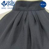 Newstyle reizvolle schwarze gefaltete Freilegende-Zurück Form-Frauen-Bluse