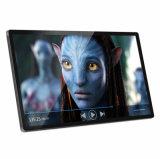 32 pouces Cadre photo numérique WiFi Lecteur vidéo électronique de l'appui du système de contrôle des médias pour la publicité