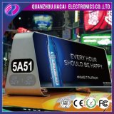 3G WiFi LED de publicidad de Taxi Top LED Display