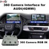 Поверхность стыка вид сзади & 360 панорам для экрана бросания сигнала ввода системы Lvds RGB Mmi Audi 4G