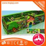 ジャングルの主題の赤ん坊のための屋内運動場装置のいたずらな城