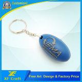 Chaveiro Plástico Personalizado profissional /Porta-chaves de borracha em PVC maleável em preço barato (XF-KC-P21)