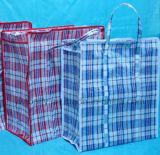 記憶およびパッケージの薄板になるプラスチックによって編まれるショッピング・バッグ