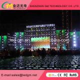 Alquiler de interior Pantalla LED P2 Alquiler pH2mm Pantalla LED de alta resolución de pantalla LED Die Casting Gabinete