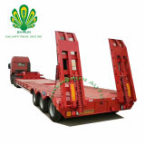 Utilitaire Shengrun 3 essieux faible lit semi-remorque de camion à plat