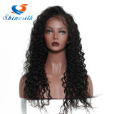 Париков фронта шнурка человеческих волос париков высокого качества парик шнурка полных передний