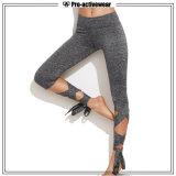 Calças feito-à-medida por atacado da ioga das caneleiras da ginástica de mulheres do desgaste da aptidão