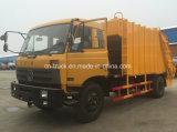 4X2 12cbm 10cbm 패물 쓰레기 압축 분쇄기 쓰레기 트럭