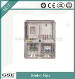 Прозрачная приемопередающая коробка Предоплаченная распределительная плата Однофазные цепи Блок IP43