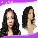 Парики фронта шнурка человеческих волос оптовой цены материальные