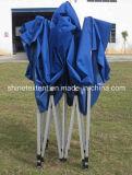Il Gazebo piegante esterno di alluminio della tenda portatile schiocca in su il baldacchino